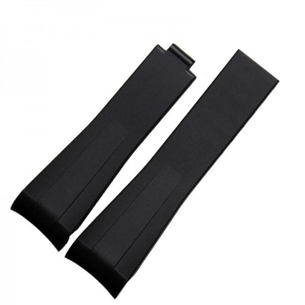 Black rubber rolex